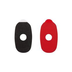 7659 Samolepky Red Five (premium), oválné