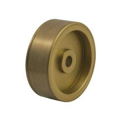 8028 Diamantový brusný kotouč, ultra jemný s drážkou a sedlem, 5 mm