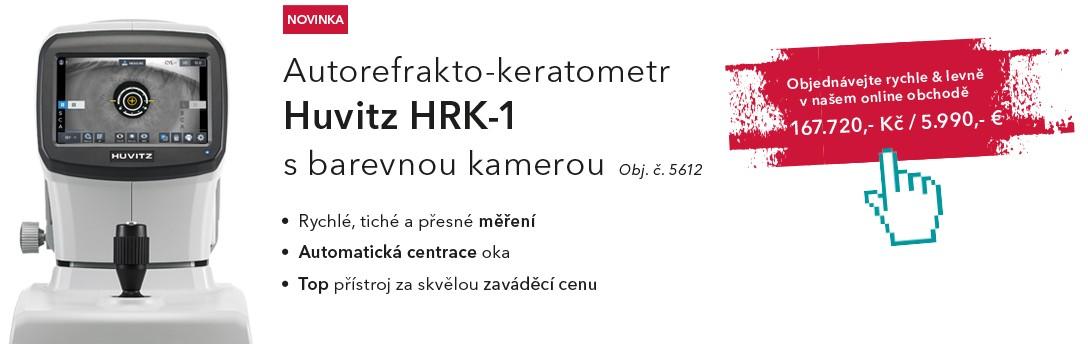Nový autorefrakto-keratometr Huvitz HRK-1 za zaváděcí cenu