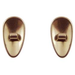 6482 Titanová sedýlka kapky matná 11,7 mm, šroubovací 1 pár