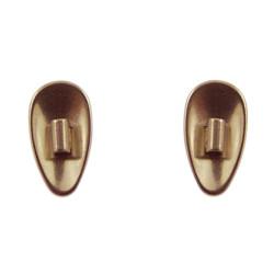 6481 Titanová sedýlka kapky matná 11,7 mm, nacvakávací 1 pár