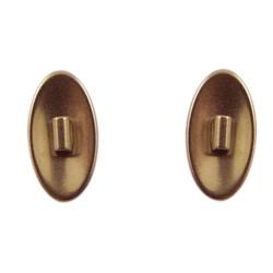 6471 Titanová sedýlka kulatá lesklá 8,0 mm, nacvakávací 1 pár